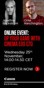 Cinema EOS C70 webinar 150x300 PROAV WEBSITE