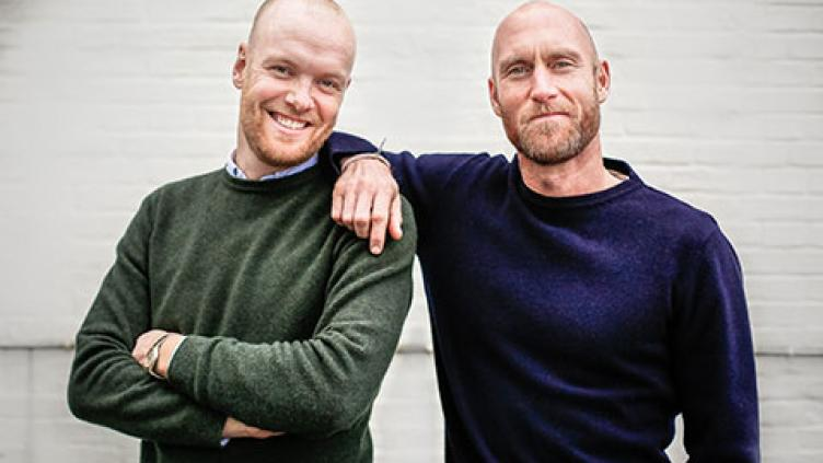 David Sidebotham og Anders Fuchs