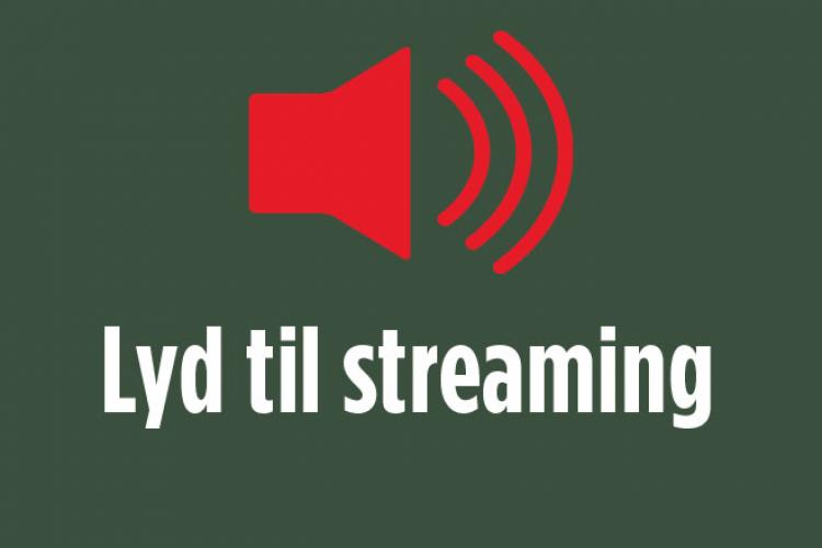 Lyd til streaming