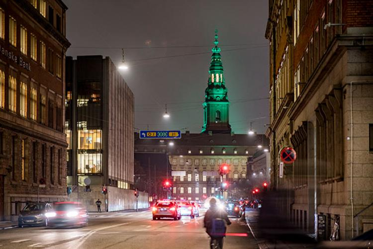 NET Illumination of the Tower of Christiansborg Palace by Jesper Kongshaug CLF2019 Photo Kim Matthai Leland 6