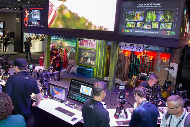 ibc2019 panasonic booth